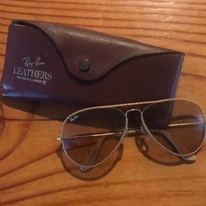 Vintage Ray Ban Bausch & Lomb leathers